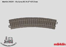 Märklin 24224 C pista curvo R2 437 5 mm en embalaje original