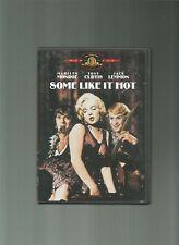 Some Like It Hot, Marilyn Monroe, Tony Curtis, Jack Lemmon, Dvd