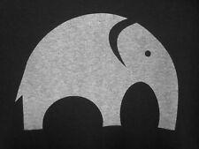 Elephant circular logo T shirt med tee pachyderm Gop conservative Republican