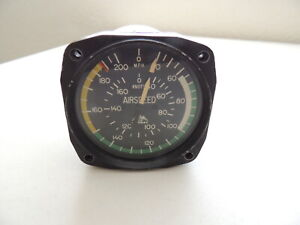 Vintage Garwin / Mooney Airspeed Indicator 22694-04 RARE
