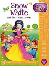 Snow White and The Seven Dwarfs Phonic Readers Level 2 Sticker Book