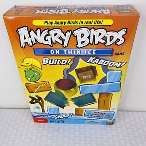 Angry Birds On Thin Ice Game Mattel Games New Complete Sealed 2021 FREE SHIPPING
