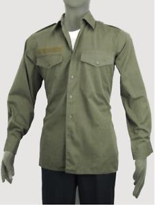 Original Bundeswehr Feldhemd BW Feldbluse Hemd Bluse Diensthemd Oliv 35//36-49//50