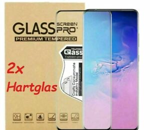 2x Panzerfolie Samsung Galaxy S21 | S20 | Plus | Ultra Full Screen 9H Schutzglas