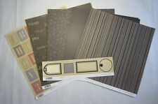 """14 Scrapbooking Australia Brown Colours of Orchard 12""""x12"""" Paper, Journal Blocks"""
