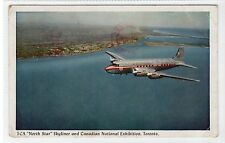 "TCA ""North Star"" SKYLINER: Trans-Canada Air Lines postcard (C20957)"