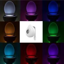 Lampe LED Nuit pour Siège de Toilettes Veilleuse WC pour Sécurité-Goutte
