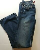 BKE Denim Sabrina Stretch Straight Leg Women's Jeans Size 27x32 boot cut
