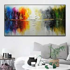 """YA1060 Decor art 48"""" 100%  Hand-painted Abstract Landscape oil painting Unframed"""