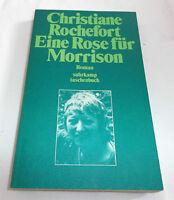 Christiane Rochefort Eine Rose für Morrison