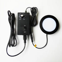 Brightness Adjustable LED Ring Lamp Round Stereo Microscope Bottom Light Source