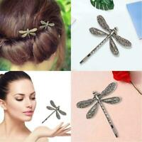 Metal Dragonfly Shape Hairpin Hair Clips Hair Accessories Crafts DIY