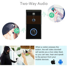 WiFi Wireless Doorbell Remote Phone Security 720P Camera Night Vision IR USA