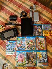 Nintendo Wii U console lot 9 Games Mario Kart MarioParty 10 Super Mario 3D World