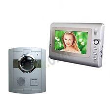 """Kit Videocitofoni monofamiliare videocitofono con monitor 7"""" e telecamera 6 led"""