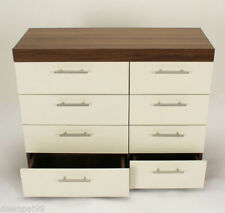 Walnut Over 70cm Bedside Tables & Cabinets with Cupboard