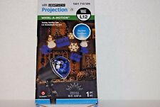 Gemmy LED Lightshow Weddings Holidays Party Projection Whirl-A-Motion BLUE/WHITE
