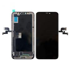 """iPhone X 5.8"""" 3D LCD Display Glas Scheibe Touch Screen Digitizer Retina Schwarz"""