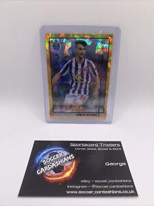 Topps Merlin Chrome 2021 Soccer FABIO VIEIRA RC Rookie Porto Gold Atomic /50 🔥