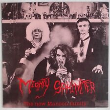 MIGHTY SPHINCTER: The New Manson Family USA Alice Cooper ORIG Insert LP
