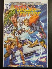 BACK to the FUTURE #10a (2016 IDW Comics) ~ VF/NM Book