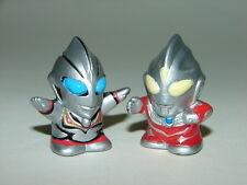 SD Ultraman Tiga (Power Type) vs Evil Tiga Mini Figures! Godzilla Gamera