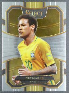 2017-18 Panini Select Soccer NEYMAR JR. Brazil #70