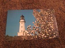 Vintage Postcard Unposted Lighthouse Two Light Cape Elizabeth Me