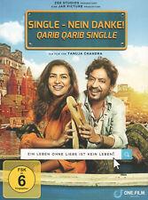 QARIB GARIB SINGLE / SINGLE, NEIN DANKE - Bollywood DVD mit Irfan Khan & Parvath