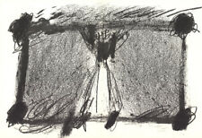 Antoni Tapies-Study for double page-1968 Lithograph