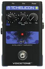 New TC Helicon VoiceTone Single H1 Intelligent Harmony Pedal!