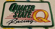Quaker state racing patch 4.6 x 3 inch