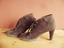 @ Peter Kaiser @ Ankle Boots Court Shoes Suede Dark Brown Size 37,5 UK 4 1/2