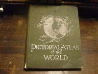 1889 RAND MCNALLY STANDARD ATLAS OF THE WORLD