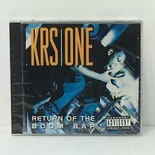 Return of the Boom Bap by Krs-One Music Audio CD Factory Sealed