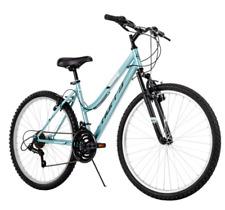 """Huffy 26"""" Rock Creek Women's 18-Speed Mountain Bike- Sea Crystal Blue"""