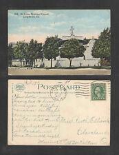 1922 ST LUKES EPISCOPAL CHURCH LONG BEACH CAL POSTCARD