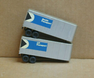 TYCO HO CP Transport & Smith Transport 28' Trailers