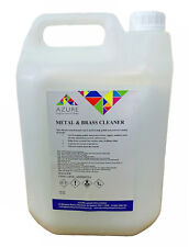 Effective Metal & Brass Cleaner Polish & Protects Metal - Professional Use - 5L