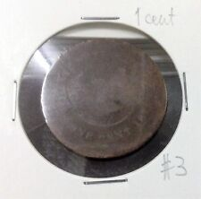 STRAITS SETTLEMENTS  QUEEN VICTORIA  1 cent  #3