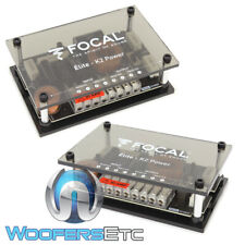 Focal Xo/Es165Kx2 Elite K2 Power 2-Way Crossovers For Mid Speakers & Tweeters
