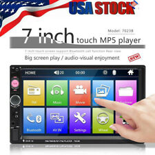 7 Inch 2 DIN Car FM Stereo Radio MP5 Player TouchScreen Bluetooth USB/TF/AUX IN