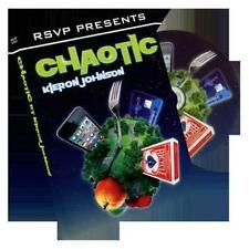 Chaotic by Kieron Johnson and RSVP Magic - DVD - Magic Tricks