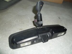 1987 Ford Mustang McLaren Convertible Rearview Interior Mirror with Map Lights