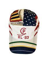 Polo Ralph Lauren Regatta Sailing CP RL 93 Flags Hat 5 Panel Cap