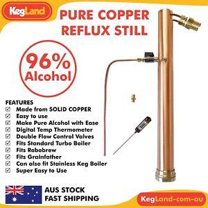 Alcoengine Reflux Still Distillation Keggomax T500 Pure Condenser Spirits