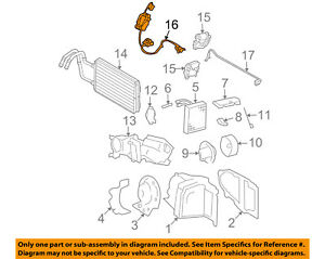 Lincoln FORD OEM 03-11 Town Car 4.6L Evaporator Heater-Vacuum Motor 9W1Z19E616D