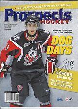 Freddie HAMILTON Signed PROSPECTS Magazine ICE DOGS Sharks