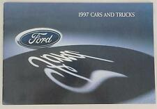Ford 1997 Cars and Trucks Sales Brochure / Literature