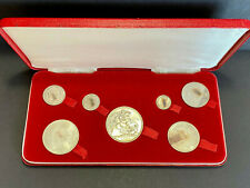 More details for queen victoria 1887 jubilee specimen coin set - stunning condition, good lustre
